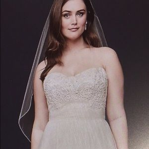 Bridal Gown - Ivory/champagne with sleeves